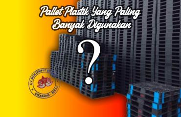 pallet plastik yang paling banyak digunakan