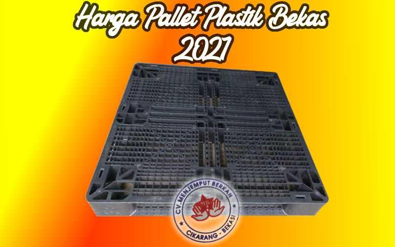 Harga Pallet Plastik Bekas 2021