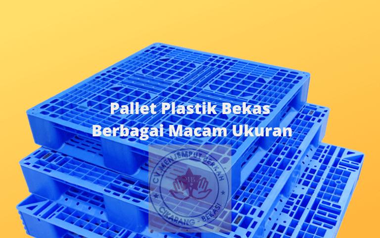 Pallet Plastik Bekas Berbagai Macam Ukuran